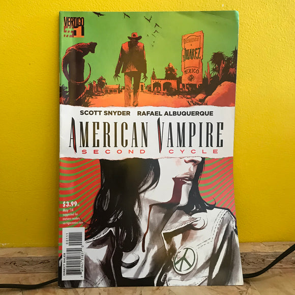 Vertigo - American Vampire Second Cycle (2014) - (Issue 1) - comic