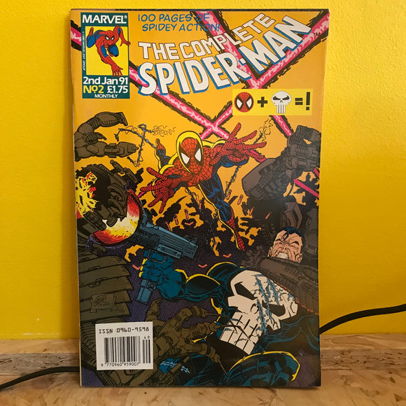 Marvel UK - The Complete Spider Man (1990) - Monthly (Issue 2) - comic