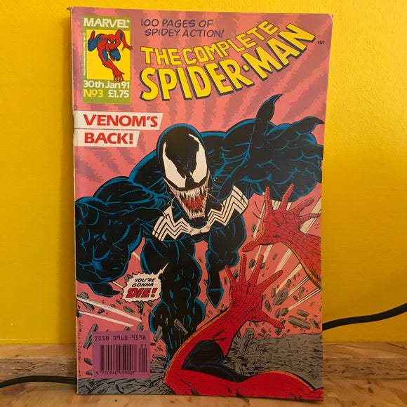 Marvel UK - The Complete Spider Man (1990) - Monthly (Issue 3) - comic