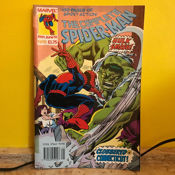 Marvel UK - The Complete Spider Man (1990) - Monthly (Issue 8) - comic