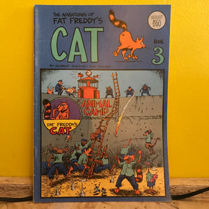 Rip Off Press - Adventures of Fat Freddy's Cat (1977-1992) - Independent (Issue 3) - comic