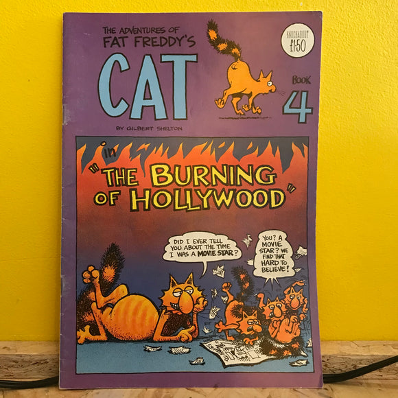 Rip Off Press - Adventures of Fat Freddy's Cat (1977-1992) - Independent (Issue 4) - comic