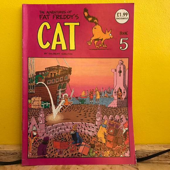 Rip Off Press - Adventures of Fat Freddy's Cat (1977-1992) - Independent (Issue 5) - comic