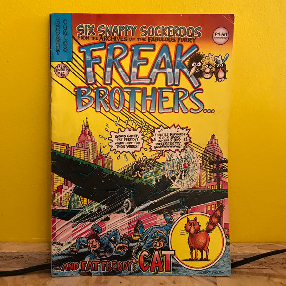 Rip Off Press - Fabulous Furry Freak Brothers - (Issue 6) - comic
