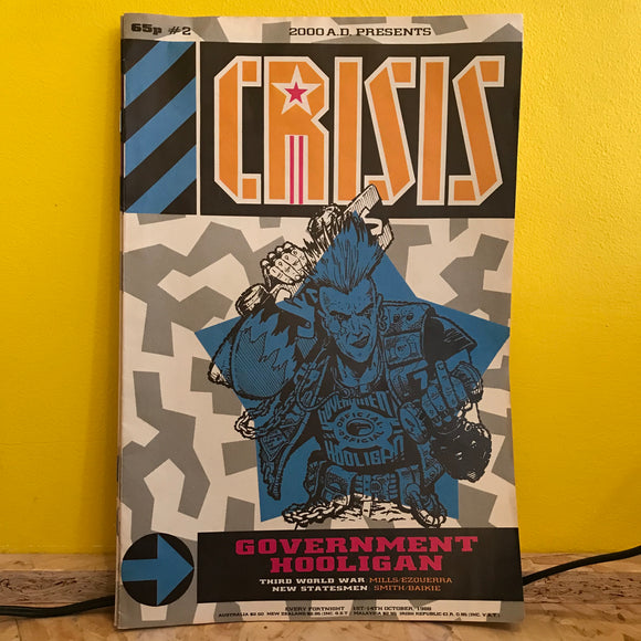 2000AD Presents: Crisis - UK Fortnightly Comic - (Issue 02) - independent