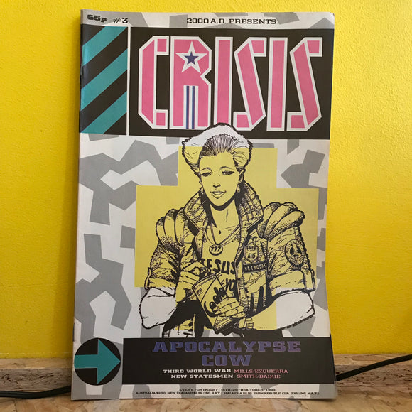 2000AD Presents: Crisis - UK Fortnightly Comic - (Issue 03) - independent