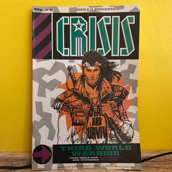 2000AD Presents: Crisis - UK Fortnightly Comic - (Issue 04) - independent