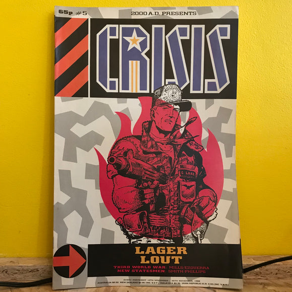 2000AD Presents: Crisis - UK Fortnightly Comic - (Issue 05) - independent