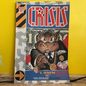 2000AD Presents: Crisis - UK Fortnightly Comic - (Issue 07) - independent
