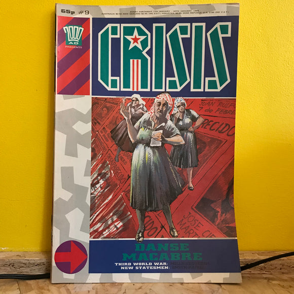 2000AD Presents: Crisis - UK Fortnightly Comic - (Issue 09) - independent