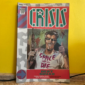 2000AD Presents: Crisis - UK Fortnightly Comic - (Issue 10) - independent