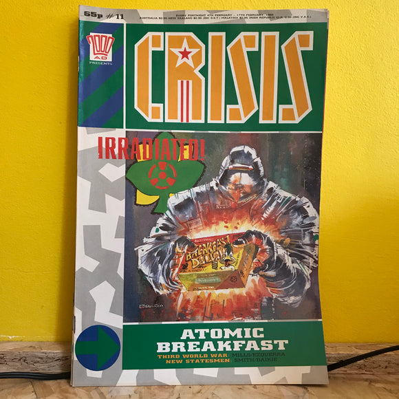 2000AD Presents: Crisis - UK Fortnightly Comic - (Issue 11) - independent