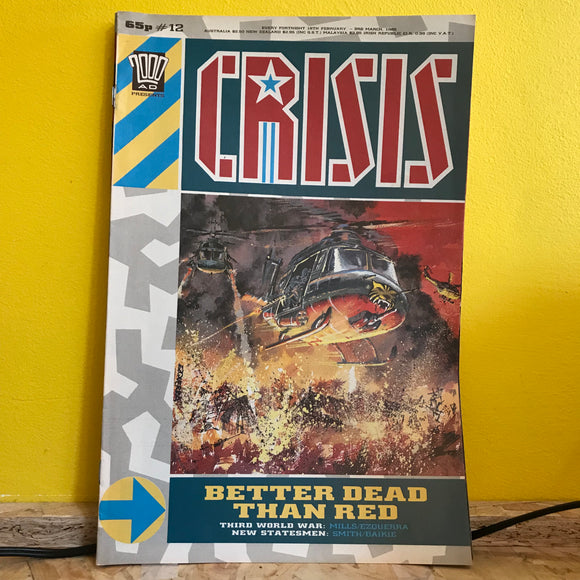 2000AD Presents: Crisis - UK Fortnightly Comic - (Issue 12) - independent