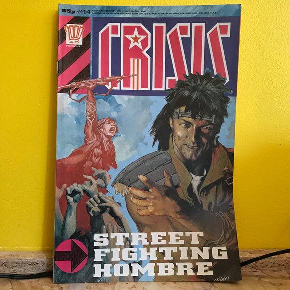 2000AD Presents: Crisis - UK Fortnightly Comic - (Issue 14) - independent