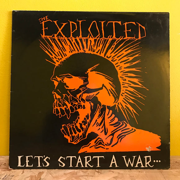 The Exploited ‎– Let's Start A War... ...Said Maggie One Day - LP - punk