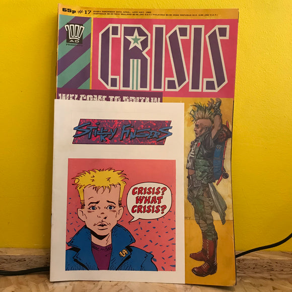 2000AD Presents: Crisis - UK Fortnightly Comic - (Issue 17) - independent