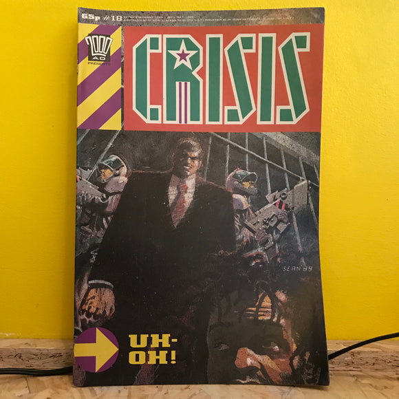 2000AD Presents: Crisis - UK Fortnightly Comic - (Issue 18) - independent