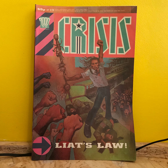 2000AD Presents: Crisis - UK Fortnightly Comic - (Issue 19) - independent