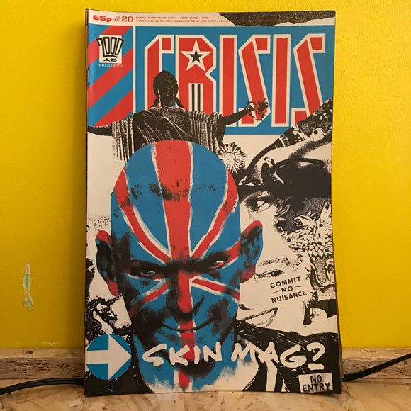 2000AD Presents: Crisis - UK Fortnightly Comic - (Issue 20) - independent