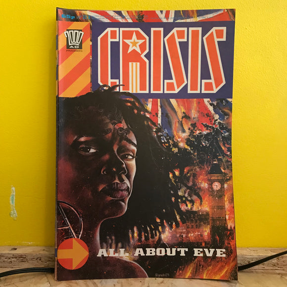 2000AD Presents: Crisis - UK Fortnightly Comic - (Issue 21) - independent
