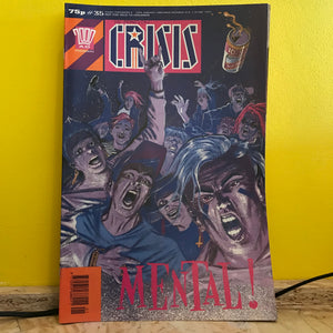 2000AD Presents: Crisis - UK Fortnightly Comic - (Issue 35) - independent