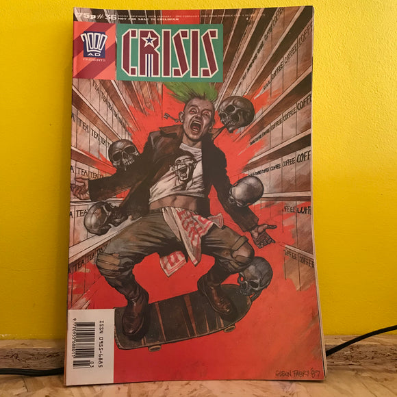 2000AD Presents: Crisis - UK Fortnightly Comic - (Issue 36) - independent