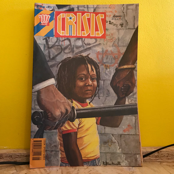 2000AD Presents: Crisis - UK Fortnightly Comic - (Issue 37) - independent
