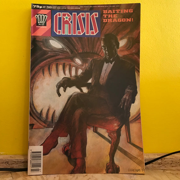 2000AD Presents: Crisis - UK Fortnightly Comic - (Issue 38) - independent