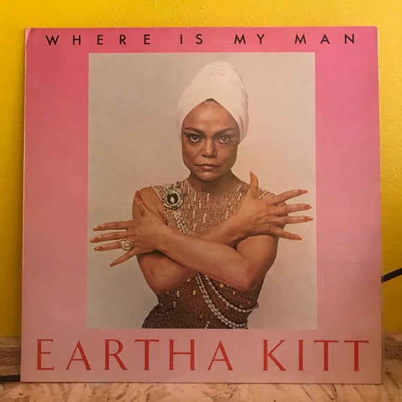 Eartha Kitt ‎– Where Is My Man - Maxi Single (12