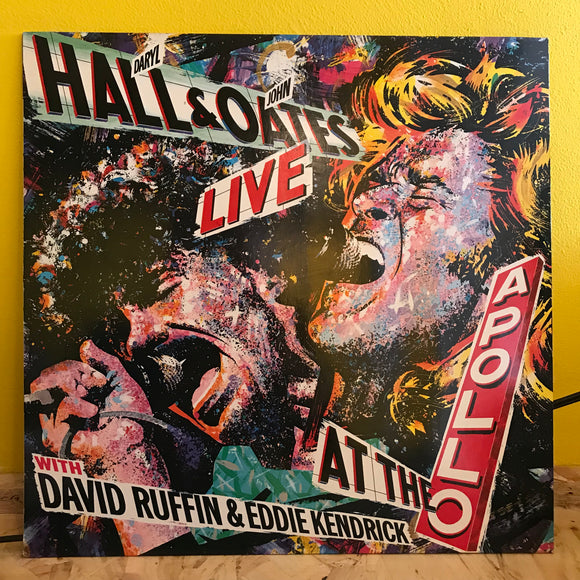 Hall & Oates Live - At the Apollo - LP (Live Album) - Pop Rock