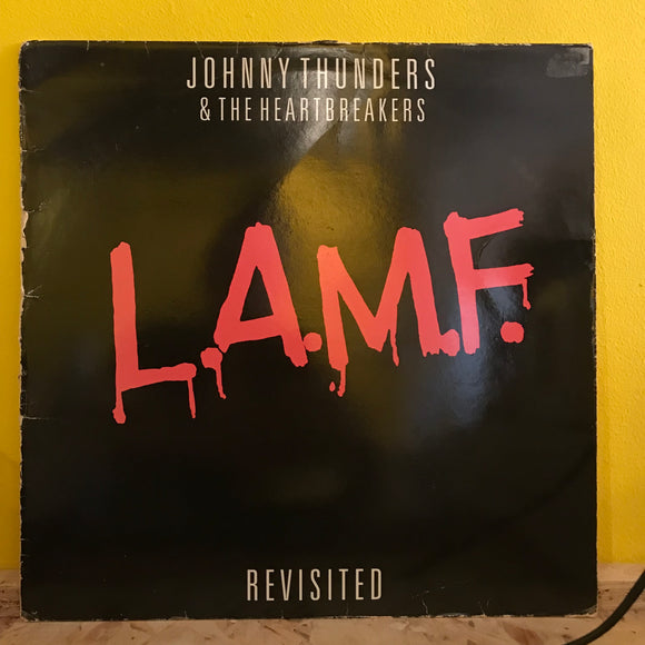 Johnny Thunders & the Heartbreakers - LAMF - LP - punk