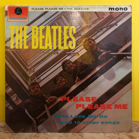 The Beatles - Please, Please Me - LP - rock