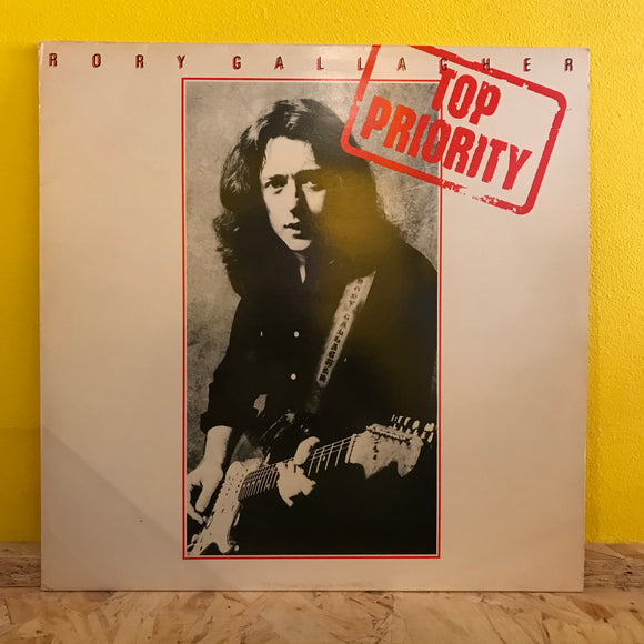 Rory Gallagher - Top Priority - LP - blues rock