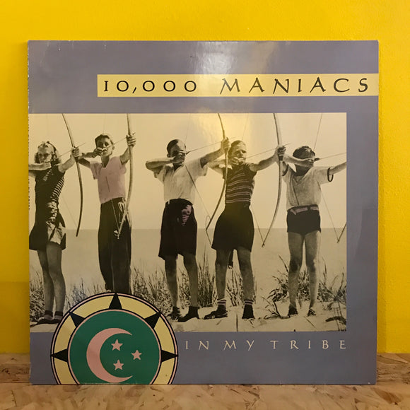 10,000 Maniacs - In My Tibe - LP - folk rock