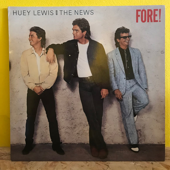 Huey Lewis & The News - Fore! - LP - rock