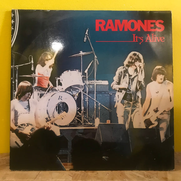 The Ramones - It's Alive - LP (x2) Live Album - punk