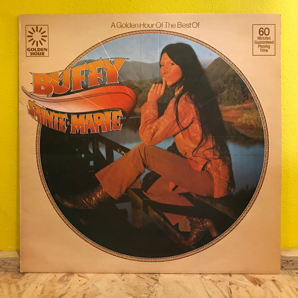 Buffy Saint Marie - A Golden Hour of the Best of - LP - folk