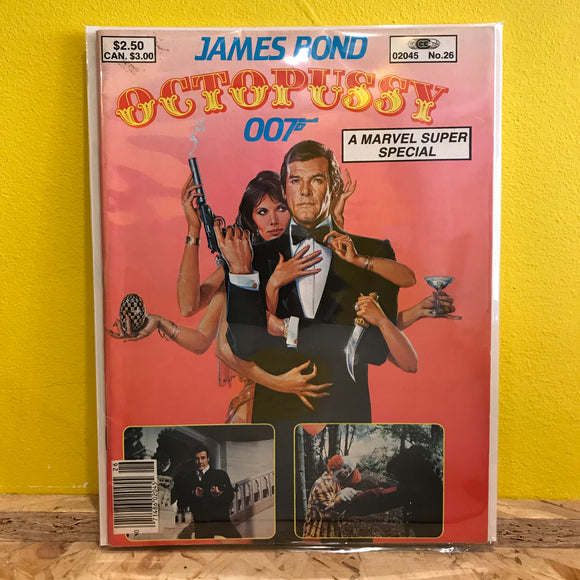 Marvel Super Special - James Bond - Octopussy 007 - comic