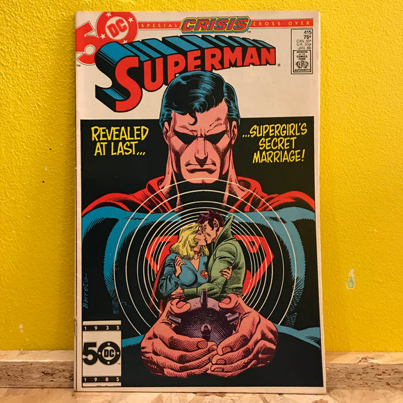 DC - Superman - Crisis Cross-over - Comics (Issue 415)