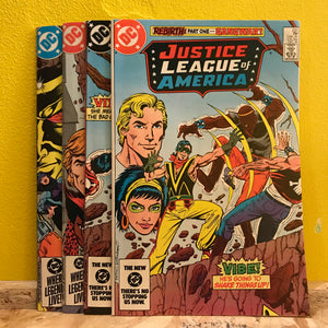 DC - Justice League of America - (Issues 233 to 236) - Comics Combo