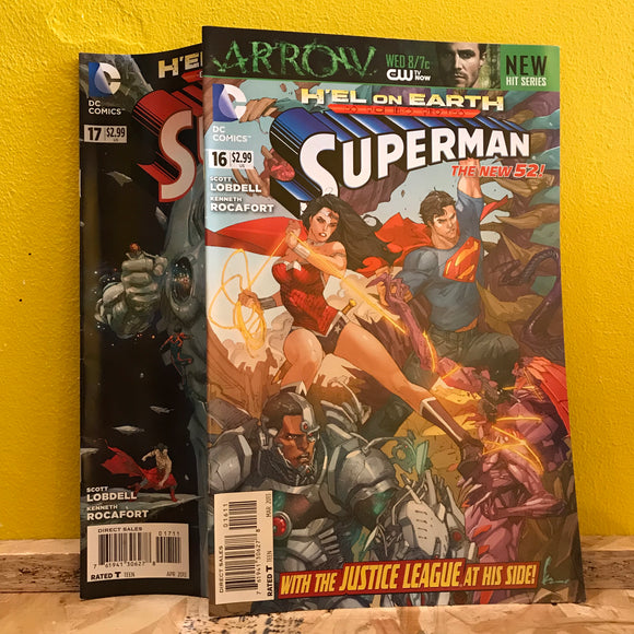 DC - Superman - New 52 - (Issues 16 & 17) - Comics Combo