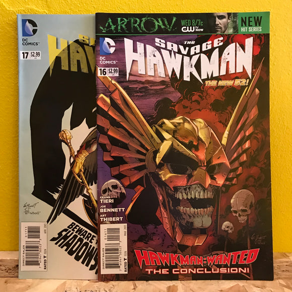 DC - The Savage Hawkman (New 52) - (Issues 16 & 17) - Comics Combo