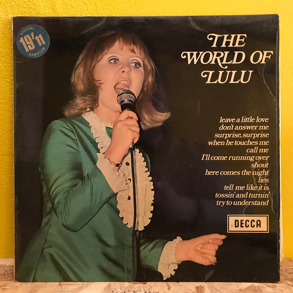 Lulu - The World of - LP - pop (comp)