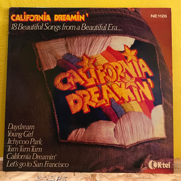 Various ‎– California Dreamin' - LP - compilation