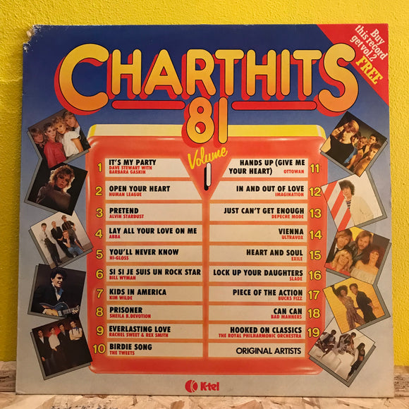 Various ‎– Chart Hits 81 Volume 1 - LP - compilation