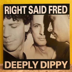 "Right Said Fred - Deeply Dippy - House - 12"" single"