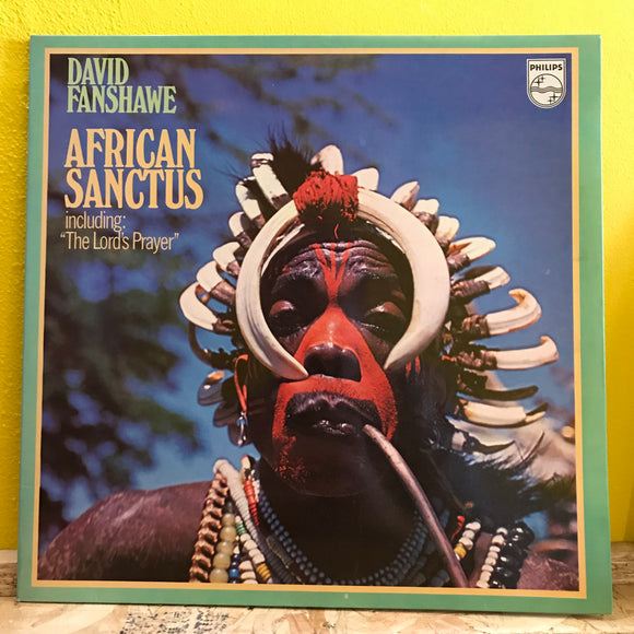 David Fanshawe - African Sanctus - LP - world music