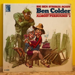 Big Ben Colder - Big Ben Strikes Again - LP - country/comedy