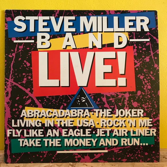 Steve Miller Band Live! - LP - rock