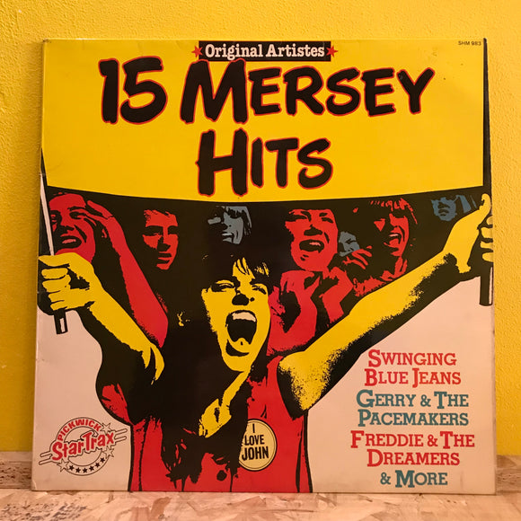 Various - 15 Mersey Hits - LP